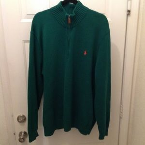 Men's Polo sweater 2X